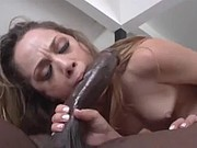 Beautiful Girl Gets Her Face Coated In Black Cum