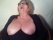 Funny Granny wants to play with Cock and Balls