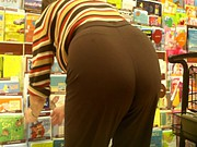 Mature Gilf Ass Kept Bending That Booty Butt
