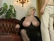 Mature BBW play with a young boy.