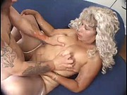 MILF Bitch Gets A Mouth Cumshot From A Lucky College Student