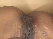 Two ebony lesbian exhibitionists loves to suck each others pussy