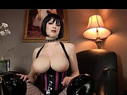 dominatrix wants you to jerk off