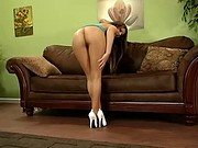 Austin Kincaid Plays In Her Pantyhose