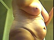 Mature wife, exciting body in close up