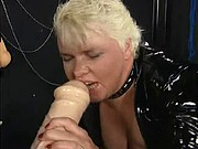 Fist Latex BBW Mature