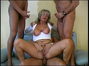 Hot German Granny gets Anal & Vaginal Creampies