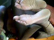 more mature Indian feet