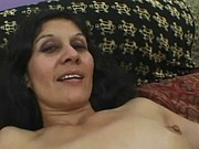 Hairy mature latina goes dirty