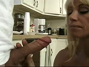 Bigtitted mom takes load from her toyboy