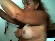 SANDRA, COLOMBIAN MATURE 50 YEARS STREAP