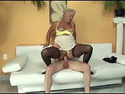 Blonde mature part 3