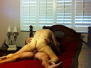 chubby wife rides cock