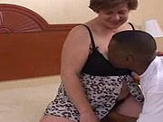 48yr old White Whore Wife Deena Loves BBC Creampies