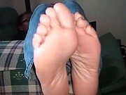 Amateur wife Candy. Beautiful soles being filmed! :D