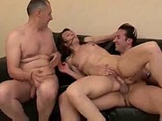 french cheating wife sodomized in front of husband