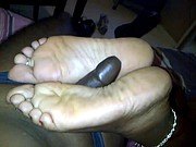 ebony bbw feet