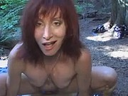 HOT FUCK #25 (Mature Redhead in the Woods)