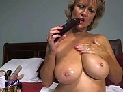 Big Busty Grandma likes to role play on WebCam