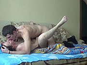 Russian mature mother fuck with young boy